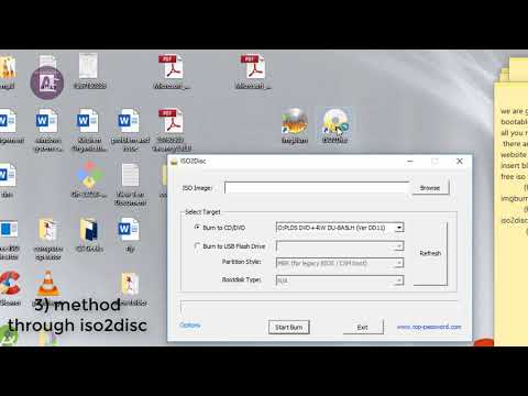How To Make Bootable Cd/dvd  From Iso File | Easy Method | Convert Iso Image Into Bootable Cd/dvd