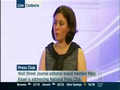 Mary kissel what australia can learn from america 39 s for Mary kissel