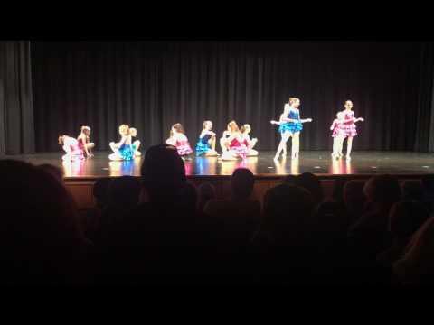 Sydney Dance Recital - Mambo #5 (Jazz)