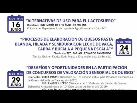 3° encuentro virtual: Procesos de Elaboración de quesos