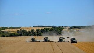 Harvest 2013 John Deere Combines- GoPro High Definition
