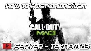 [How To] Host COD MW3 Dedicated Server Online or LAN Using TeknoMW3 2.7.3.11