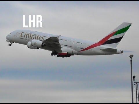 Plane Spotting *Morning Takeoffs* at London Heathrow Airport Incl.Finnair Livery..✈️✈️