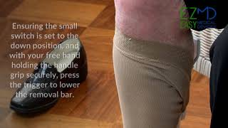 How to use the EZ-Compression Stocking Gun®Off