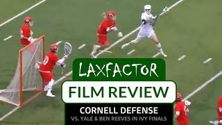 Lacrosse Film Review: Cornell's Defense Shuts Down Yale In Ivy League Final