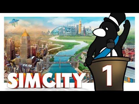 """SimCity (2013) - Día #1 """"Fundando ciudad Azulona!"""" (Let`s Play en español)"""