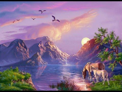 сказочный пейзаж картинки