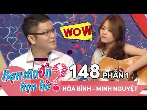 Quyền Linh - Cát Tường cười ngất vì cặp đôi có gu 'độc - lạ' | Hòa Bình - Minh Nguyệt | BMHH 148 😆