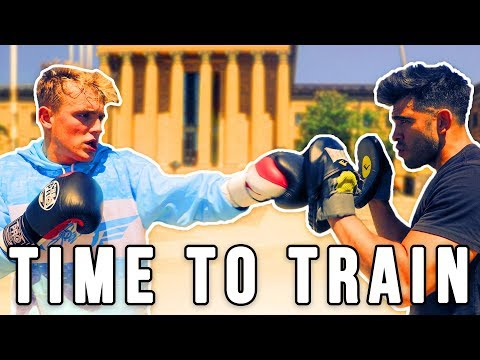 MY FIRST DAY OF TRAINING FOR MY BOXING MATCH AGAINST KSI'S LITTLE BROTHER!! thumbnail