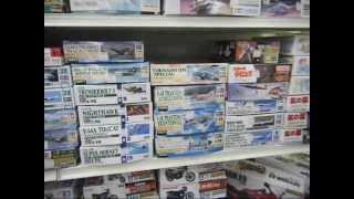 Kogetsudo plastic model shop in Fuji, Shizuoka-ken