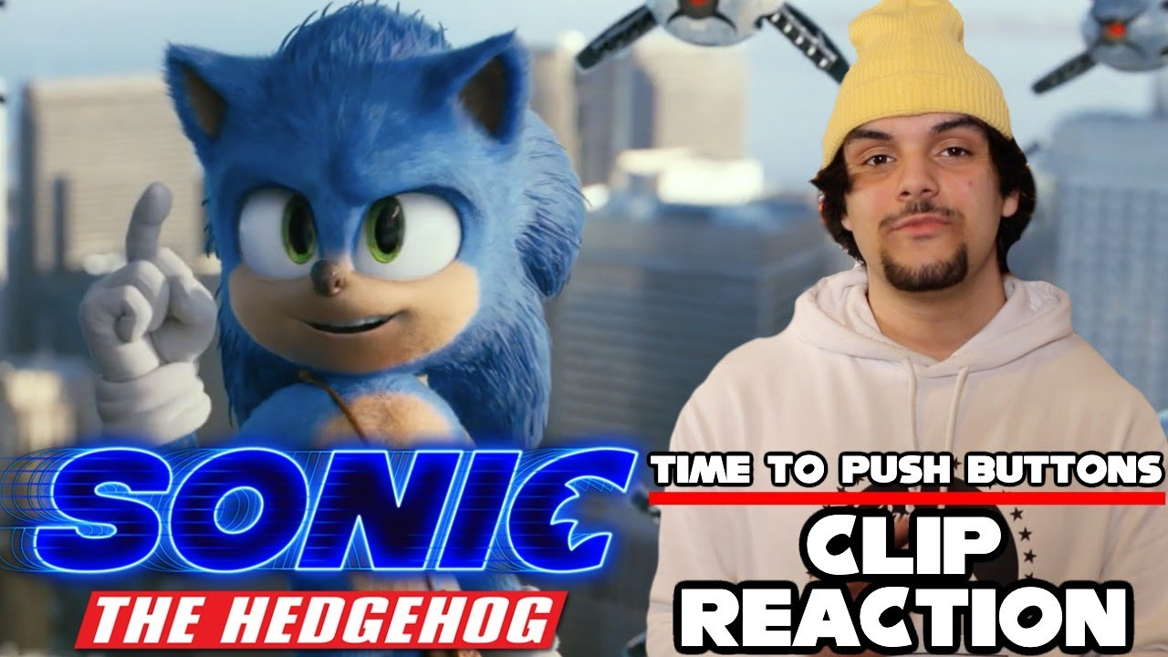Sonic The Hedgehog Movie (2020) Time To Push Buttons Clip (Reaction)