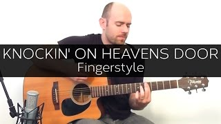 Knocking on heaven's door (Dylan/Guns n' Roses) - Acoustic Guitar Solo Cover (Violão Fingerstyle)