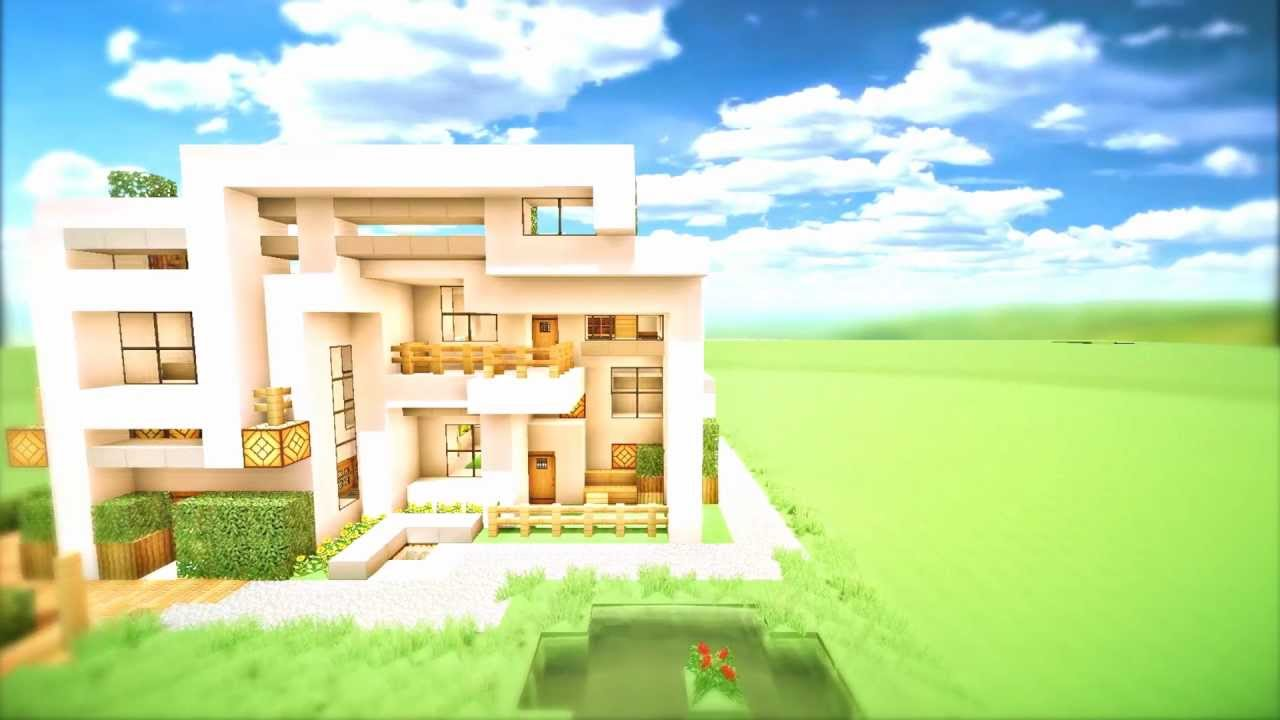 Minecraft modern house 2 download extreme home youtube for 24x24 modern house