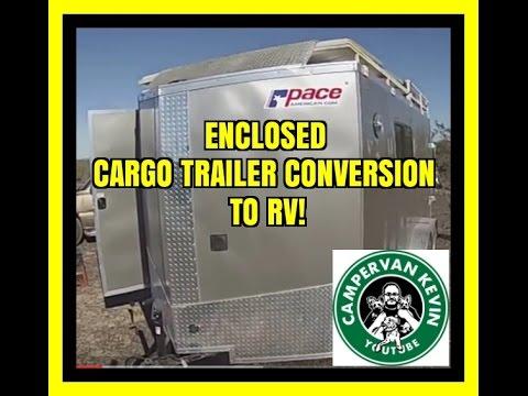 Cargo Trailer Conversion to RV YouTube