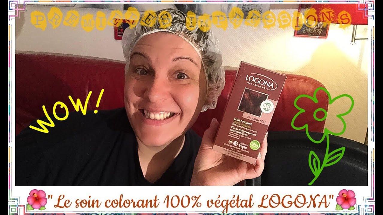 premires impressions n3 le soin colorant 100 vgtal logona - Soin Colorant Logona