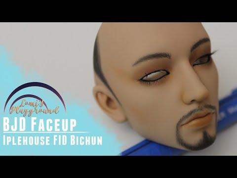 BJD faceup: Iplehouse FID Bichun