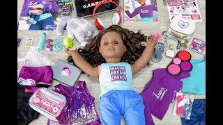 American Girl Doll Gabriela Bedroom, Morning Routine, Whole World Collection Mash Up
