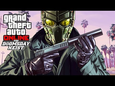 GTA 5 The Doomsday Heist - NEW GTA 5 HEIST! #1