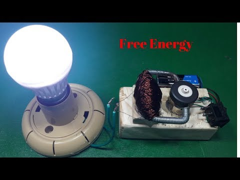 how to make useful free energy project 9 volt battery and magnet 2018