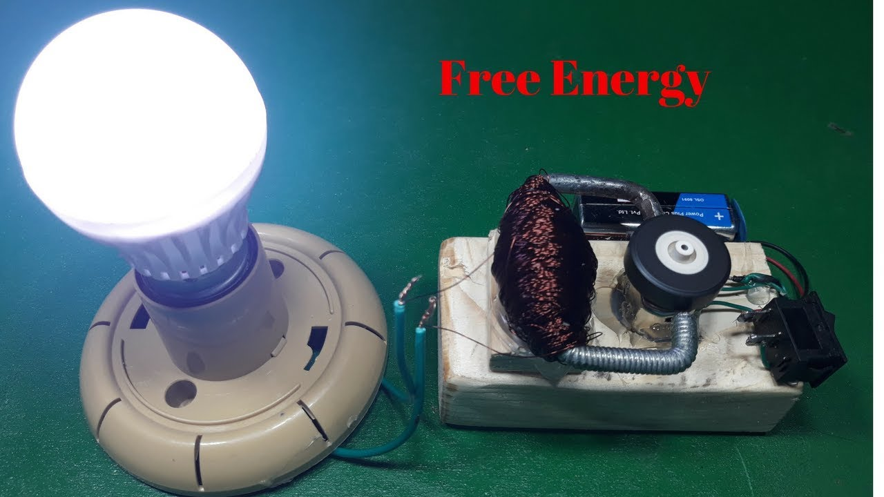 how to make useful free energy project 9 volt battery and magnet ...
