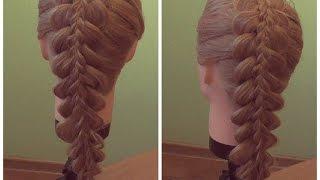 Коса с косой. видео-урок.