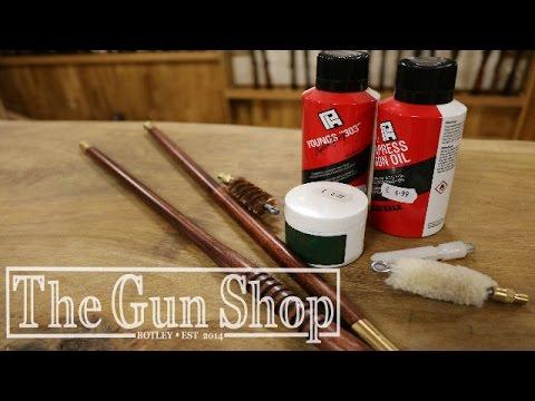 How to clean a shotgun   The Gun Shop