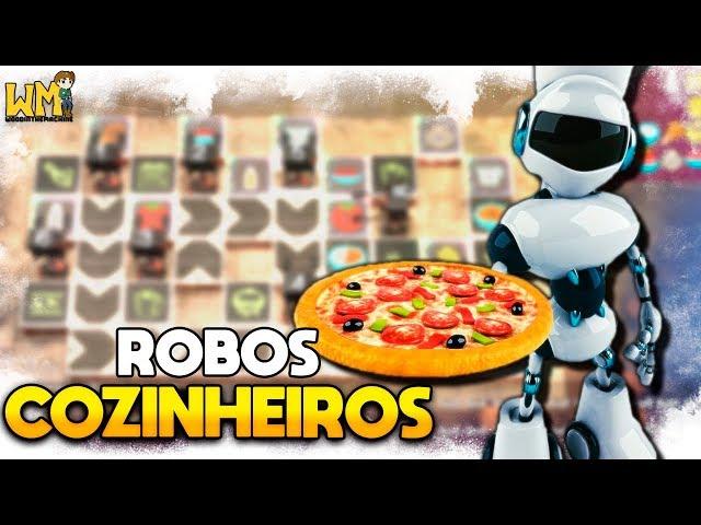 PROGRAMANDO e AUTOMATIZANDO COZINHAS! - Neon Noodles #01 - Gameplay PT BR