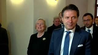 Campobasso, punto stampa del Presidente Conte