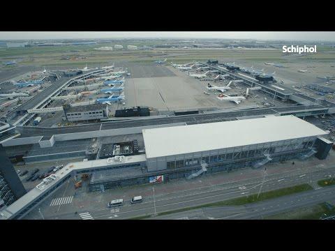 Tijdelijke Vertrekhal op Schiphol geopend!
