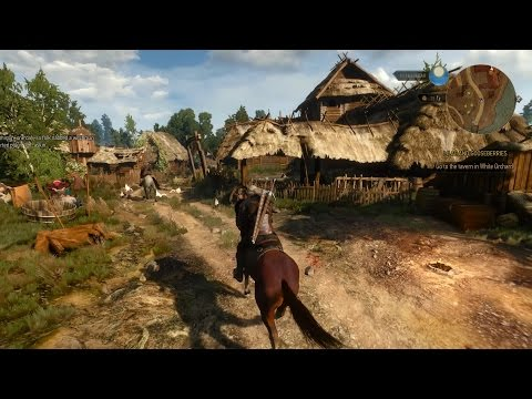 Gameplay video shows more of The Witcher 3's world