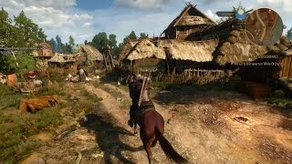 The Witcher: Wild Hunt || January 2015 Gameplay Video