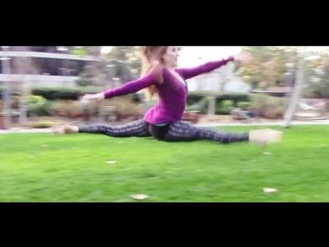 How To Do A Split Leap With Coach Meggin!
