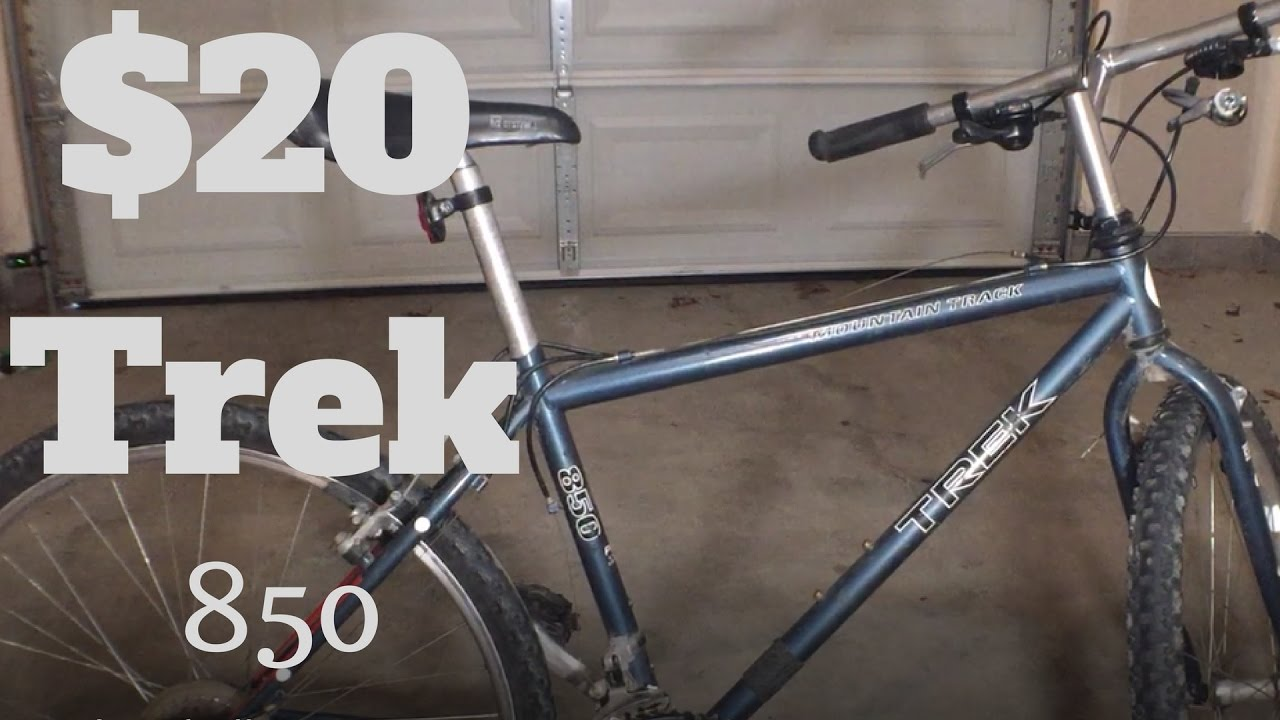 20 Trek Mountain Bike Trek Mountain Track 850 Youtube