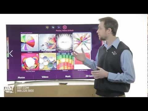 Samsung UN55F8000 55-inch LED 1080P 3D HDTV: Samsung At Abt Electronics