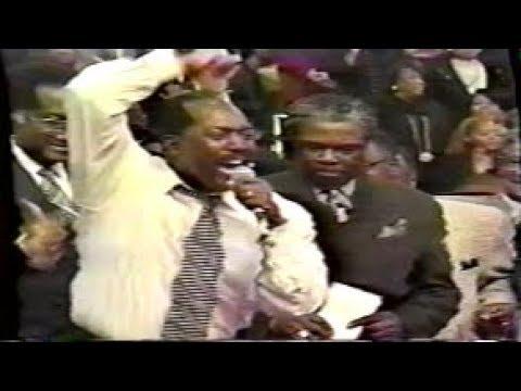 Bishop Derrick W. Hutchins Sr. COGIC Holy Convocation Memphis 1997!