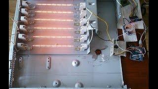 Инфракрасная паяльная станция на ARDUINO Часть 1. Диммер + датчик температуры.(В этом видео показываю, как диммировать нагрузку с помощью ARDUINO, при этом управлять диммером с помощью датчи..., 2015-06-28T16:29:28.000Z)