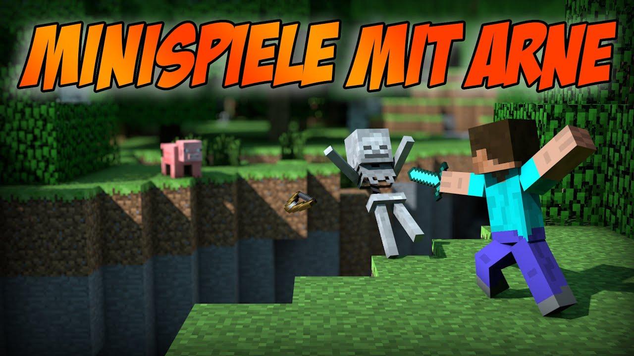 Minecraft MINISPIELE Bisschen Rumnooben D HD YouTube - Minecraft minispiele
