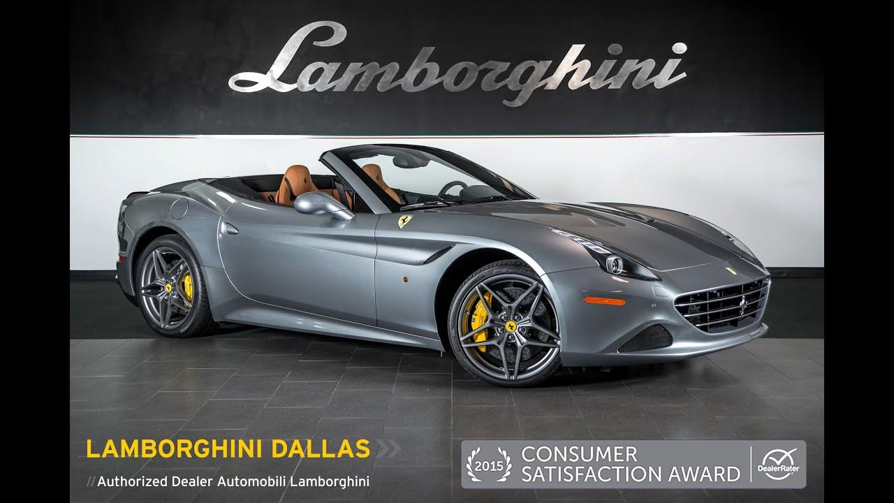 2016 Ferrari California T Convertible Grigio anio LT0876 - YouTube