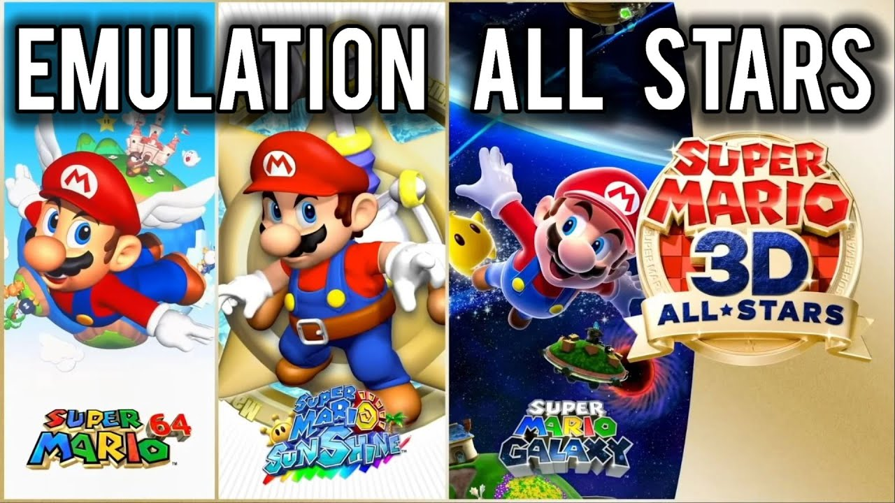Super Mario 3D All Stars Confirmed to be Emulation | MVG