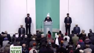 Urdu Report: Khutba Juma 17 January 2014 Islam Ahmadiyya