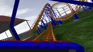 NoLimits Roller Coaster 1.7 - Star World Mountain - Beto Carrero World [2008]