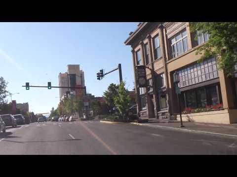 Driving Downtown Ashland Oregon