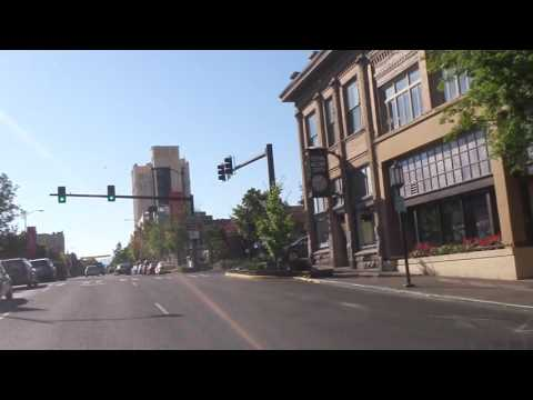 Driving Downtown Ashland Oregon