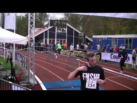Polybouwcross Crosscircuit van het Oosten 2014 Rijssen Finish 5km