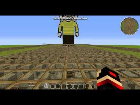 Minecraft Noteblock Music:Undertale Ost: 089 - SAVE the World