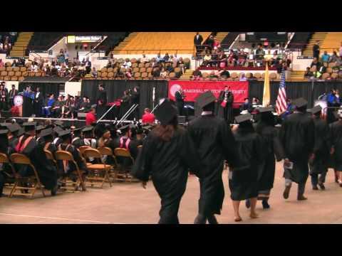 2016 Commencement - Graduates Walking - #StritchU16