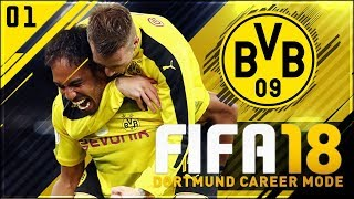[new series] fifa 18 dortmund career mode ep1 - new players needed!!