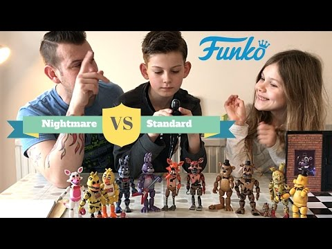 Unboxing FNAF Animatronics Funko Collection Toys - Five Nights at Freddy's ☠️ Nightmare Edition ☠️