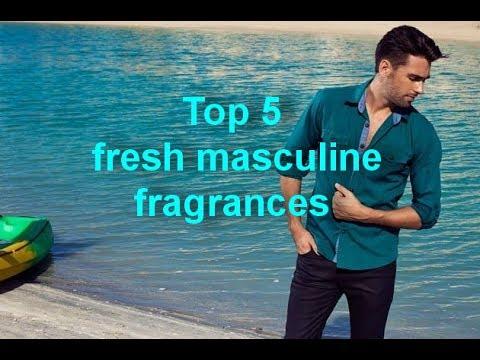 Top 5 свежих мужских ароматов