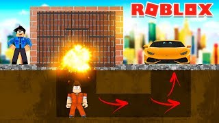 ROBLOX JAILBREAK: SECRET EXITS FROM PRISON FOUND